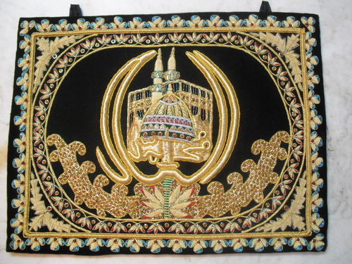 Islamic Wall Hangings hand embroidered islamic wall hanging in jamia nagar, new delhi