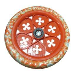 Flower Bicycle Tyre