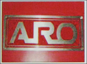 Stainless Steel Name Plate (Rmc - 213) in  Khetwadi