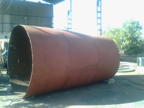 Chemical Storage Tank Fabrication
