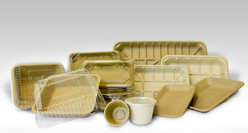 Biodegradable Supermarket Trays