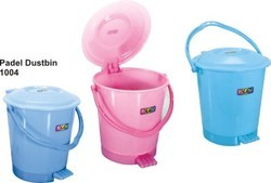 Durable Plastic Pedal Dustbins