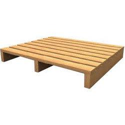 2 Way Single Deck Wooden Pallet