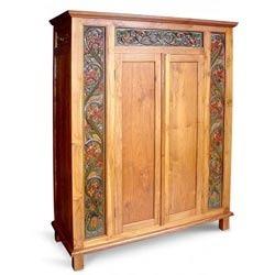 Designer Wooden Almirah Suppliers Traders Wholesalers
