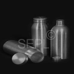 Dome Shaped Aluminium Bottles