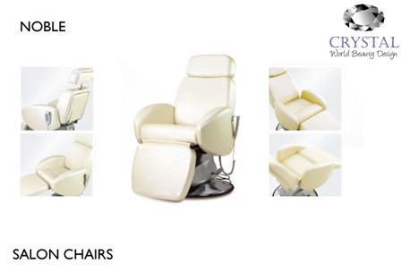 Crystal Noble Salon Chair