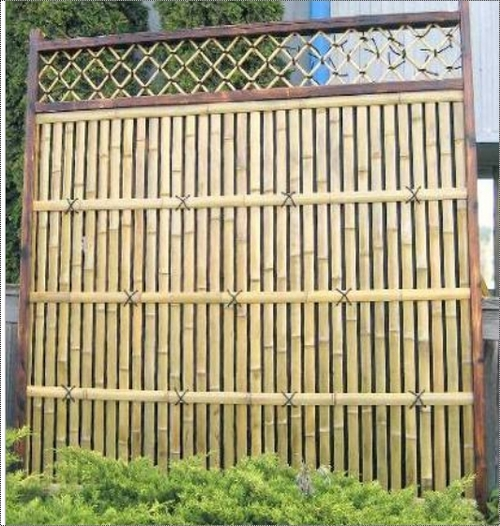 Designer Bamboo Door In Lakkhi Mandir Path