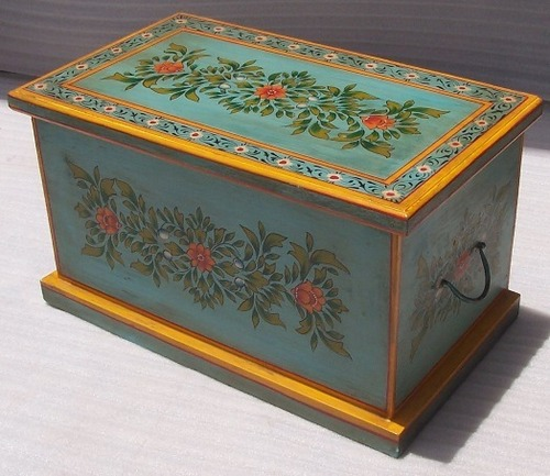Decorated Wooden Boxes Gorgeous Hand Painted Wooden Box In Jodhpur Rajasthan  Jaitex Exports Design Ideas