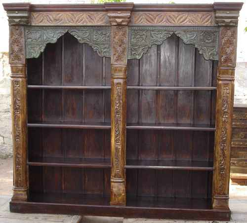 Old Pillar Bookcase In Jodhpur Rajasthan Jaitex Exports