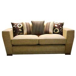 Wooden Designer Upholstery Fabric Sofa Set In Hosur Road