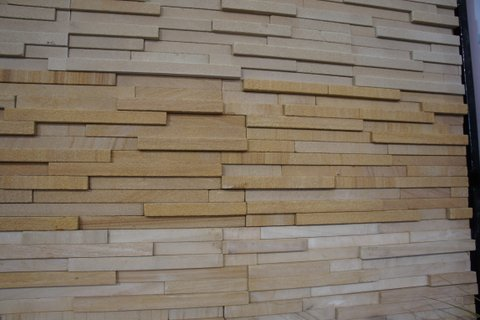 Exterior wall cladding tiles in ashok nagar udaipur for Exterior wall tiles design india