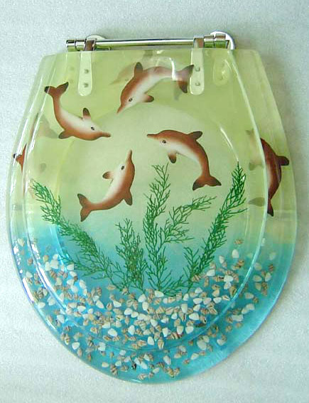 Decorative Polyresin Toilet Seat Cover In Huli Area Part 39