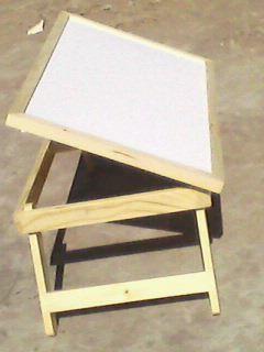 Flexible Wooden Study Table