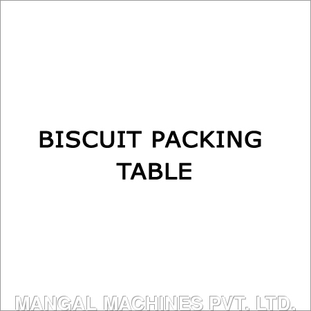 Biscuit Packing Table