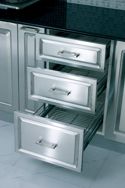 Kitchen steel cabinets in ludhiana punjab onida switch gear for Kitchen cabinets india