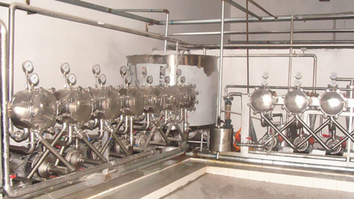 A Complete Set Of Potato Starch Equipment