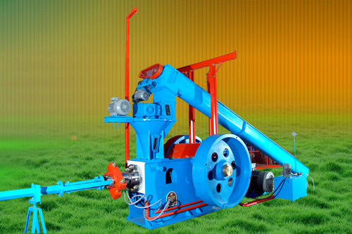 Renewable Biomass Briquetting Machine
