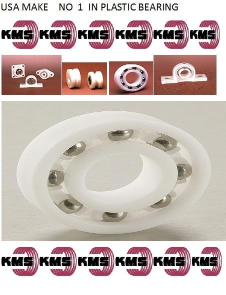 Plastic Redial Ball Bearings