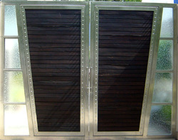 Modern Stainless Steel Gates in  Kundrathur Road