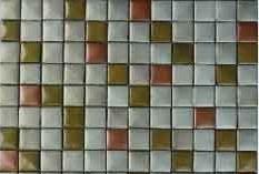 Designer Metallic Glass Mosaic Tiles