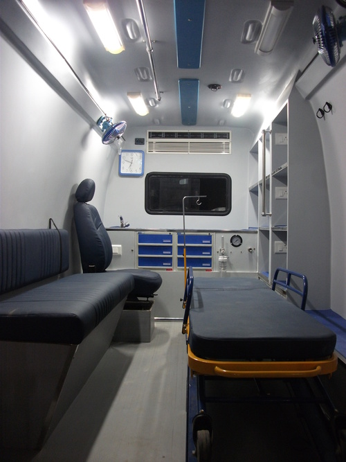 Ambulance Fabrication Service in  Redhills Road