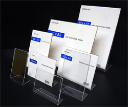 Acrylic L-frames Name Plates