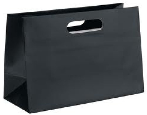 Black Color Paper Shopping Bags in Kenedy Nagar, Pondicherry ...