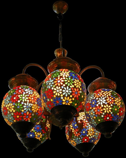 Multi Color Chandelier in Panch BattiMI Road Jaipur – Color Chandelier
