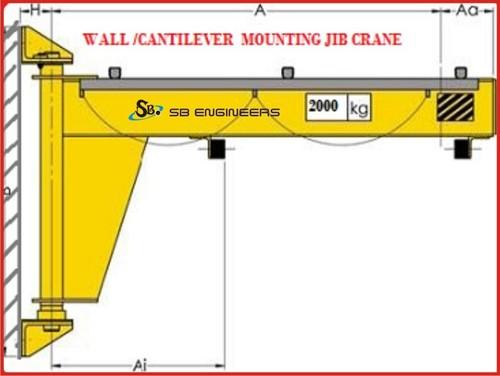 Jib Crane Manufacturers In Ahmedabad : Jib crane in vatva ahmedabad exporter and manufacturer