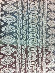 Schiffli Dyeable Embroidery Fabric
