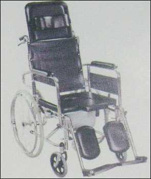 Reclining Commode Wheel Chair (Je609gcu) in  Malad (W)