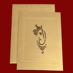 Ganesha Printed Wedding Cards in Girgaon, Mumbai ...