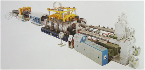 Double Wall Corrugated Pipe Extrusion Line in  Dsidc Industrial Complex