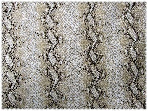 Polyester Snake Printing Pu Coated Fabrics