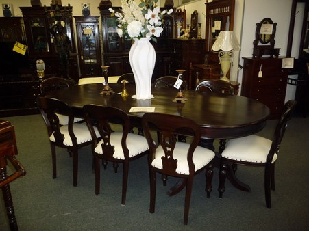 8 Seater Chairs And Table Victorian Dining Set In Mooroolbark
