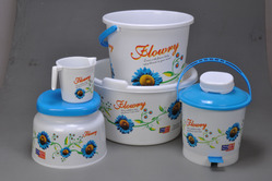 Plastic Printed Bucket in  Tronica City