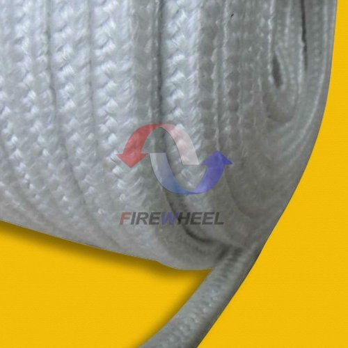 Fiberglass braided rope heat resistant gasket material in for Fiberglass thermal insulation