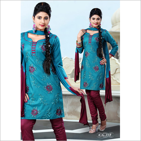 Unstitched Ladies Salwar Suit