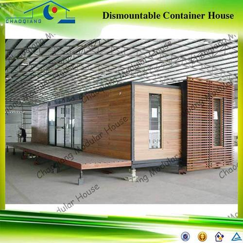 20 foot modular restaurant shipping container house in chuangye road no 95 kang shun logistics - Shipping container home building code ...