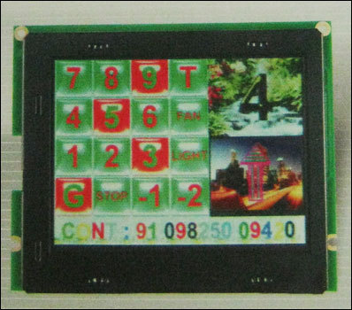 Touch Pad Car Operating Panel With Color Led