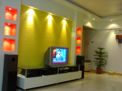 Designer TV Unit in Ganesh Nagar PuneAtharva KitchensInteriors