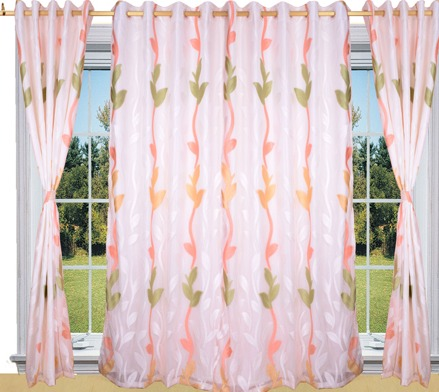 Designer Pearl Net Curtain