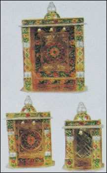 Golden Mandir Set