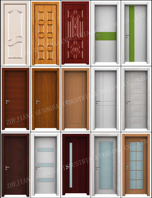 Melamine Interior Door-ZY-S8001