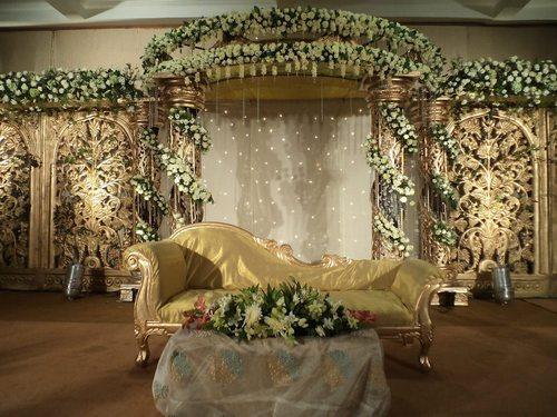 Wedding Ceremony Flower Stage Decoration Service In Kaloor Kochi