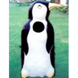 Fiberglass Penguin Shape Dustbin