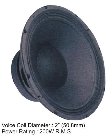 Loudspeaker (12-200 LF)