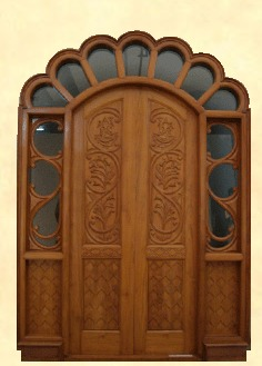 Special Carved Round Double Door (DPW-04) & Special Carved Round Double Door (DPW-04) in Faridabad Haryana ...
