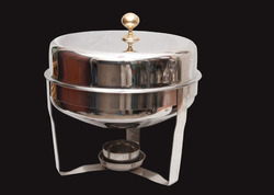 Circle Shaped Stainless Steel Chafing Dishes