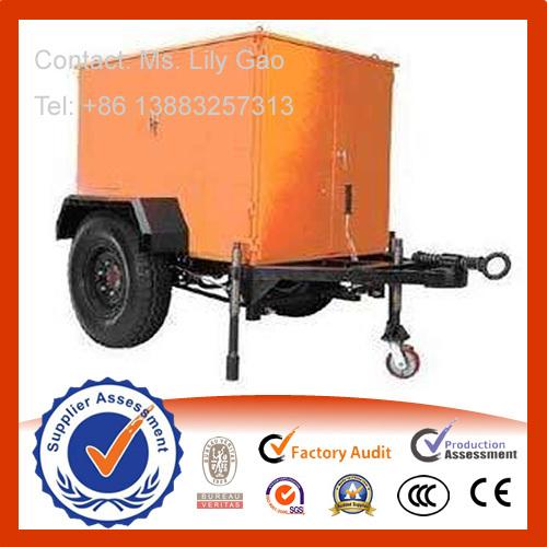 Trolley Mounted Transformer Oil Filter Machine